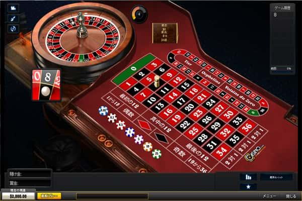 Roulette at Casino.com