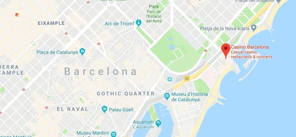 バルセロナmap
