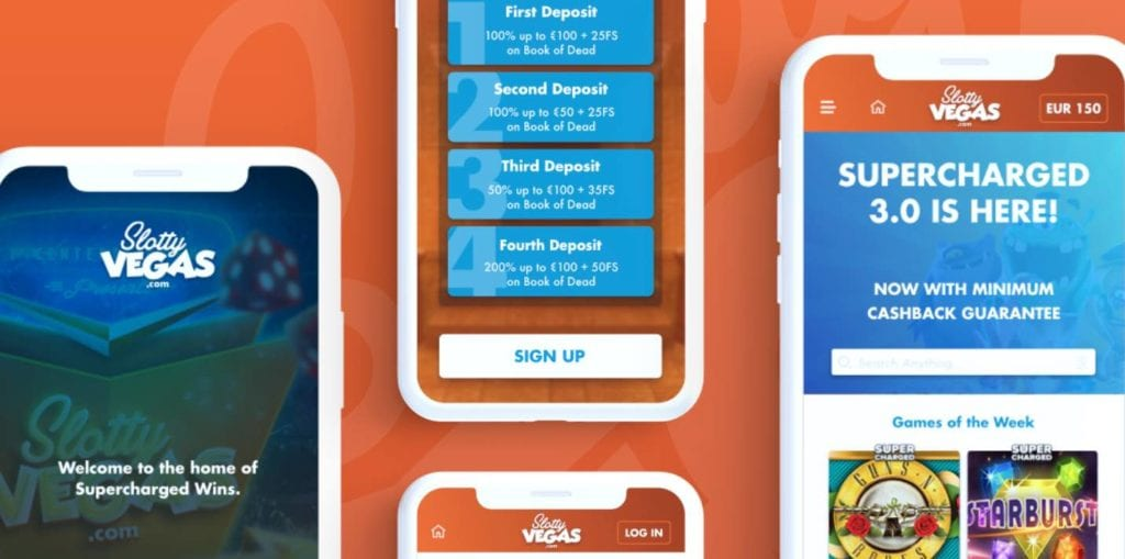スロッティベガス モバイルアプリ