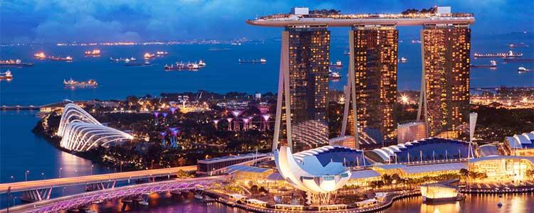 シンガポール カジノ 街並み