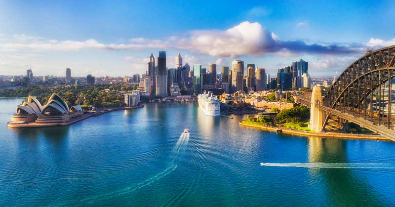 オーストラリア 街並み