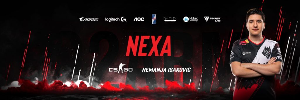 CS:GOプレイヤー nexa